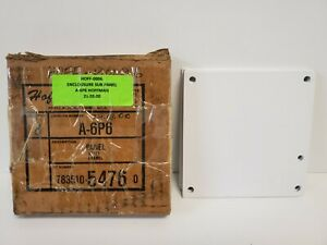 Box Of 5 New Old Stock Hoffman White Panel Plates A 6p6