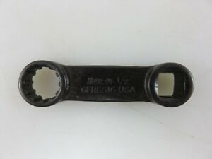 Snap on Gfres16 Spline Torque Adapter Wrench 1 2 Hex 3 8 Dr New Made In Usa