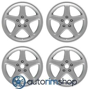 Ford Mustang Cobra 1999 2001 17 Oem Wheels Rims Full Set