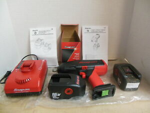 Snap On 18v Cordless Impact Wrench Kit Ct6850 1 2 Nicad