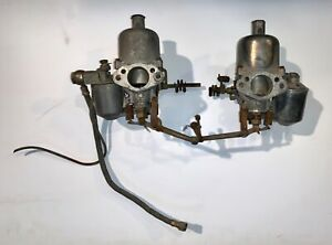 Long Ago Rebuilt Su H4 Carburetors Auc784 Mga 1500 B