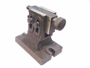 Adjustable Tailstock For Hv8 Rotary Table Hardened Ground Point