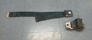 1966 67 Ford Original Used Deluxe Blue Front Seat Belt W Retractor