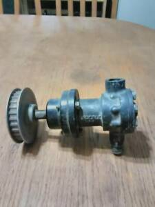 Rare Vintage Enderle 80 A Fuel Injection Pump W Belt Drive Pulley