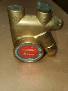Procon 111a100f11aa 250psi 3 8 Brass Rotary Vane Pump 112 Max Flow Soda Beer