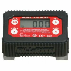 Fill rite Tt10ab Flowmeter for 1 Pipe bspt 2 To 35 Gpm