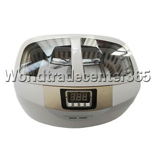 Digital 2 5l Ultrasonic Cleaner Cd 4820 Jewerly Heated Tank Timer 110v 240v
