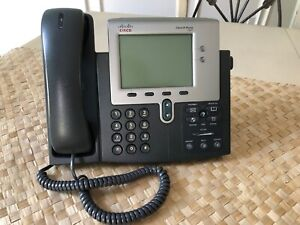Cisco Ip Phone Series 7941 Handset Stand Included Office Supplies