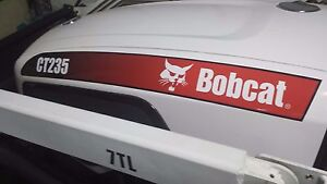 Bobcat Compact Tractor Ct335 Ct440 Hood Decals Set Of Two Loader Are Decals