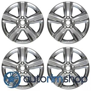 Dodge Ram 1500 2013 2018 20 Factory Oem Wheels Rims Set Polished With Silver