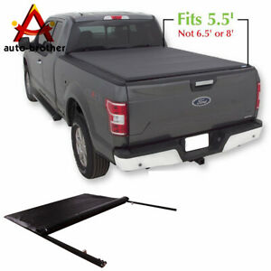 Jdmspeed Roll Up Soft Tonneau Cover 5 5 Short Bed For Ford F 150 2004 2018