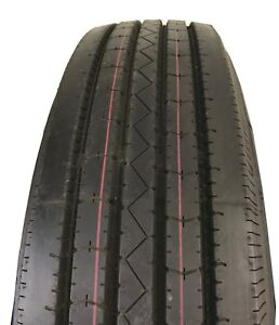 Two New Tires 235 85 16 Hawkway Trailer 14 Ply All Steel Radial Lrg St235 85r16