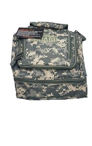 Missouri National Guard Army Tactical ACU CAMOUFLAGE Bag Carry on Lunch Bag $40.00
