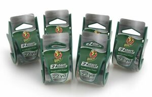 Duck Brand Ez Start Packaging Tape 1 88 Inches X 22 2 Yards Clear 6 Pack 824922