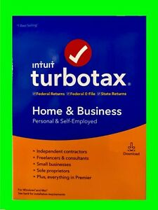 2019 Turbotax Home Business Tax Software pc mac Download