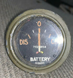 Ac Jeep Willys M38 M38a1 Dodge M37 M35 Battery Gauge 7728854