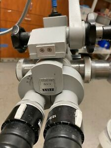 Zeiss Opmi 1 Ent Scope With Fiberoptic Light Source
