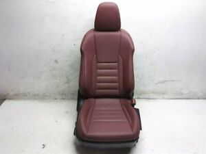 15 16 17 18 19 Lexus Is350 F Sport Front Passenger Right Seat Leather Red Rose