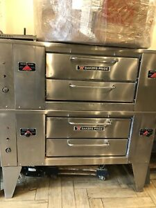 4 Pie Bakers Pride Pizza Oven Gas 63 Inches
