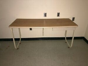 Metal Office Desk With Drawer 5 x2 x30