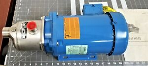 1 X 1 3 Stage Nsf Stainless Xylem Goulds End Suction Water Pump 1hp 3p a8s4