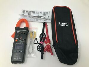 Klein Tools Cl330 400a Ac Auto ranging Digital Clamp Meter W Case