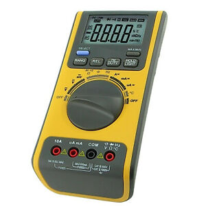 Digital Multimeter Voltmeter Thermometer Ohm Usb cd Bp W Software Usb Cable
