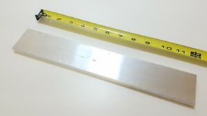 6061 Aluminum Flat Bar 3 8 X 2 X 12 Long Solid Stock Plate Machining