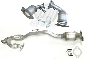 Fits Nissan Murano 3 5l All Three Catalytic Converters 2008 2012 25h43240 238239