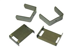 New Pair 2 5 Pro Comp Leaf Spring Bend Clip 98 250b Alignment Clamp Strap X2
