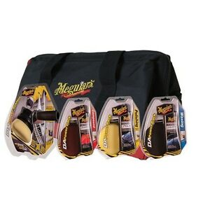 Meguiar s Da Power System Kit With Compound Polish Wax And Buffing Pads