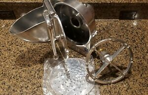 Grater Shredder Pelican Head 22 Drive For Hobart Mixer Includes Cheese Disc