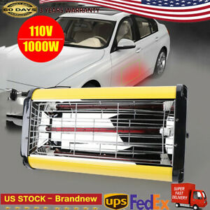 Spray Baking Booth Infrared Paint Curing Lamp Heating Light Heater 1kw Portable