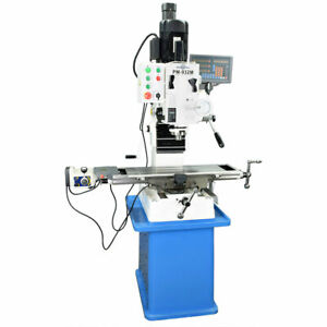 Pm 932m pdf Vertical Mill 3 axis Dro Power Down Feed with Stand Free Shipping