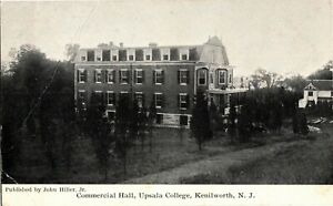 View of Commercial Hall Upsala College Kenilworth NJ Vintage Postcard A17 $8.49