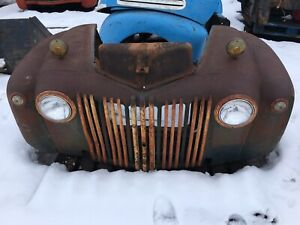 1942 1947 Ford Truck Front Clip Fenders Grill