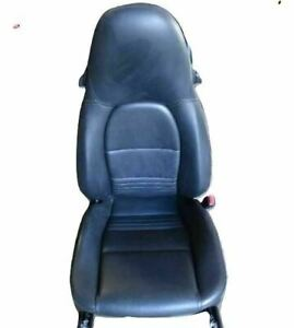 02 Porsche 911 996 Front Right Passenger Side Seat Heated Leather Black