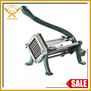 3 8in French Fry Vegetable Potato Cutter Slicer Dicer Copper Commercial Durable