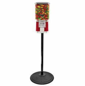 Pro Line Gumball Vending Machine On Cast Iron Stand