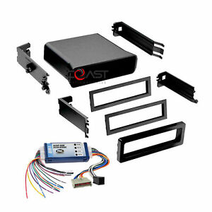 Car Radio Stereo Dash Kit Amplified Interface Harness For 1994 00 Ford Mustang