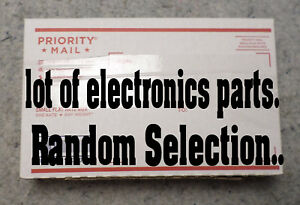 Lot Of Electronic Components Random Selection Of Components