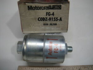Nos Oem Genuine Ford 1960 T bird 430 Fuel Filter Autolite