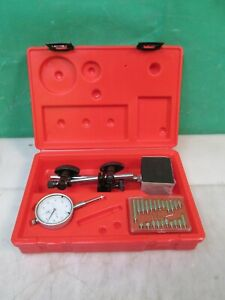 All Industrial Tool Supply Tr72020 Dial Indicator With Magnetic Base New