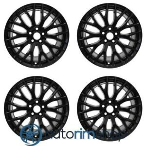 Ford Mustang 2015 2020 19 Oem Staggered Wheels Rims Set Black