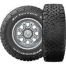 4 Lt265 70r17 Bf Goodrich All Terrain T A Ko2 121s E 10 Ply White Letter Tires