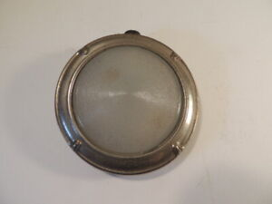 1927 Chevrolet Dome Light With Glass Lens Vintage Antique