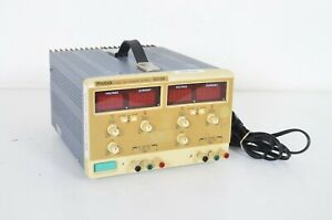 Protek 3015b Dual Dc Power Supply 0 30vdc 0 1 5a Tested Working Nice Shape
