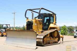 2015 Cat caterpillar D6n Xl Dozer Cab Heat ac Pat Blade Ms Ripper 3000hrs Tier 4