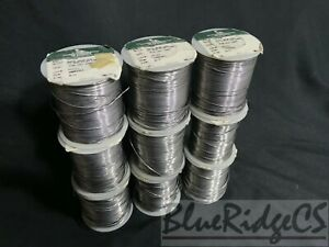 8lbs 4 6oz Soldering Wire Indium Corporation 030 Flux Core 51799p 88pb 10sn 2ag