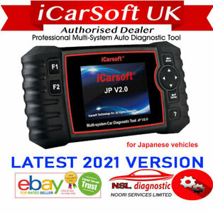 Icarsoft Jp V2 0 For Toyota Lexus Scion Isuzu Multi System Diagnostic Scan Tool